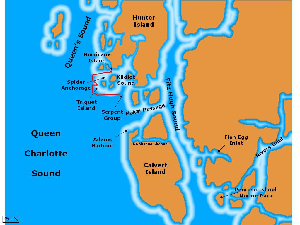 Exploring Hakai: Spider Anchorage and Kildidt Inlet