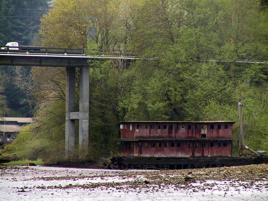 Quartermaster harbor vashon island the next day we set off in the dinghy to explore at the northwestern corner of the inner harbor the road bridges judd creek where an abandoned nvjuhfo Choice Image