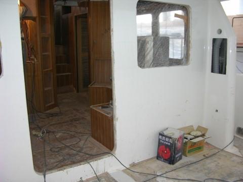 Interior Progress Mv Dirona