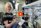 Diagnosing GenSet Low Power Output