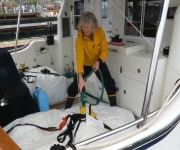 Preparing Dirona for the North Atlantic Crossing