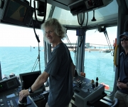 On board the SL Herbert