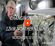 Changing Starter in 12kW Northern Lights