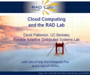Patterson on Cloud Computing