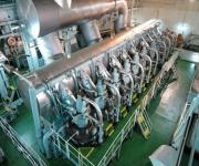 Visiting the Hanjin Oslo Container Ship