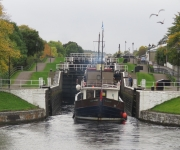 Caledonian Canal Day 2: Muirtown Basin to Dochgarroch