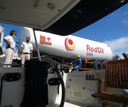 Fueling at Port Mathurin