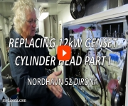 Replacing GenSet Cylinder Head Part I