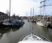 London, UK to Harlingen, NL