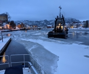 Thawing in Farsund