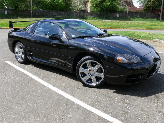 Black-on-black 1999 Mitsubishi 3000GT VR-4 for sale