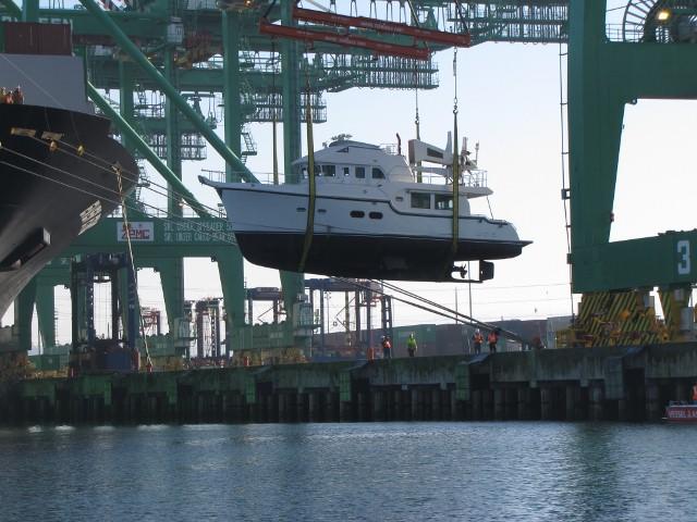 Nordhavn 5263 Delivery – MV Dirona